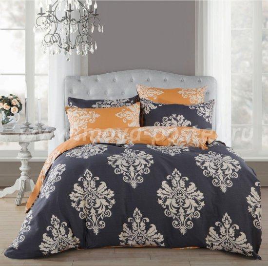 Евро комплект постельного белья из сатина C269 (70*70) в интернет-магазине Моя постель