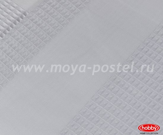 Серое постельное белье «VALERIAN» из сатина, евро в интернет-магазине Моя постель - Фото 4