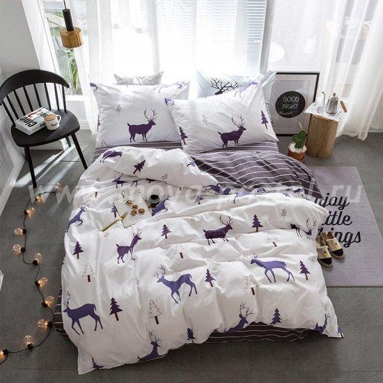 Постельное белье Модное CL004 (евро, 50*70) в интернет-магазине Моя постель