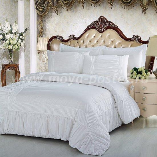 Семейное постельное белье Kingsilk RP-9-4 из перкаля с буфами в интернет-магазине Моя постель