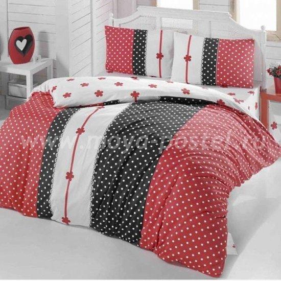 Постельное белье Irina Home IH-10-3 Alice Kirmizi в интернет-магазине Моя постель