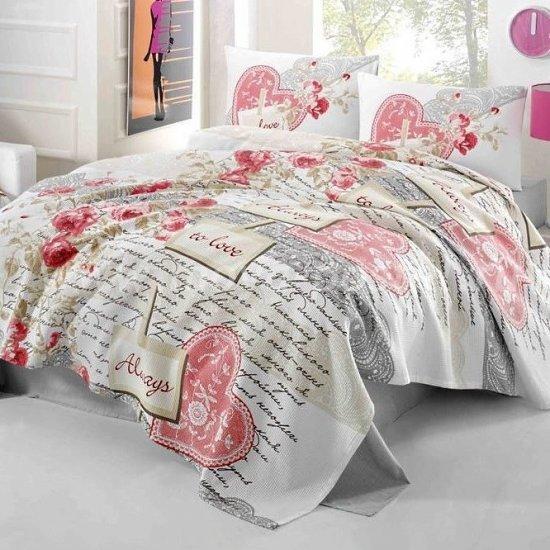 Постельное белье Irina Home IH-28-3 Serenay Kirmizi в интернет-магазине Моя постель
