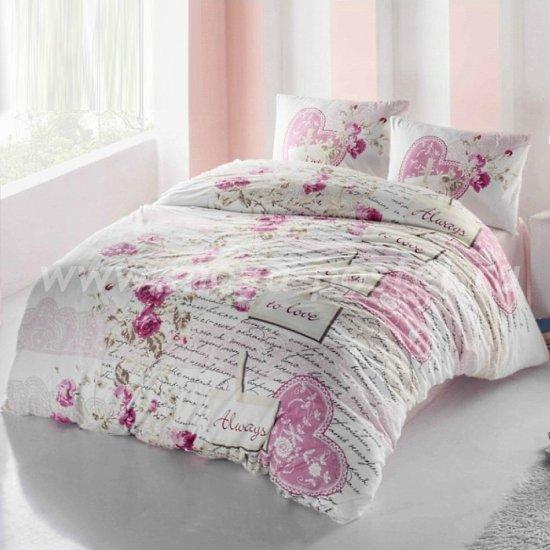 Постельное белье Irina Home IH-29-3 Serenay Pembe в интернет-магазине Моя постель