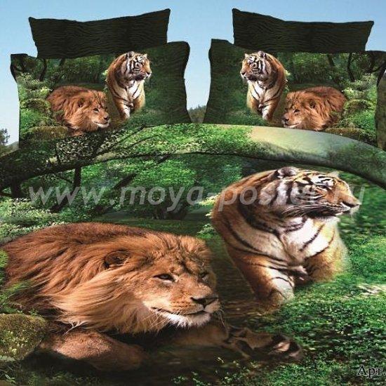 Постельное белье DA Premium-3D PR-368-2 в интернет-магазине Моя постель