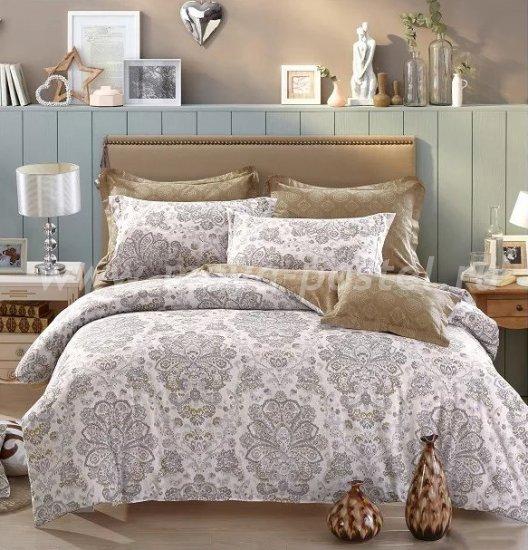 Twill 2 спальный (серые узоры) в интернет-магазине Моя постель