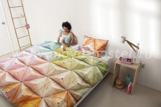 """Постельное белье """"Оригами"""", полуторное в интернет-магазине Моя постель"""
