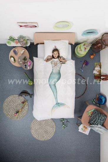"""Комплект постельного белья """"Русалка"""", евро размер в интернет-магазине Моя постель"""