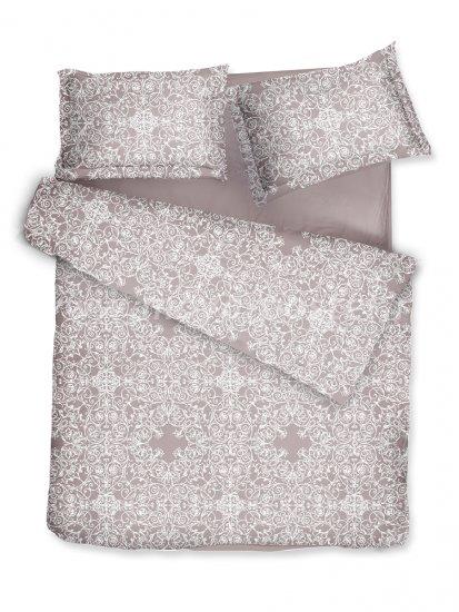 Комплект постельного белья DecoFlux Сатин Евро Versaille Mocha в интернет-магазине Моя постель