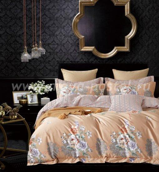 Кпб Египетский хлопок TIS07-202 евро 4 наволочки в интернет-магазине Моя постель