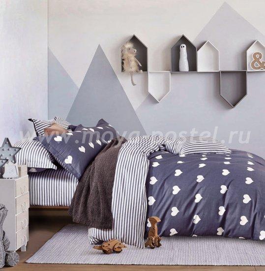 Постельное белье TPIG6-183 Twill евро 4 наволочки в интернет-магазине Моя постель