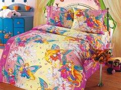 """Комплект постельного белья для девочек """"Феи"""" в интернет-магазине Моя постель"""