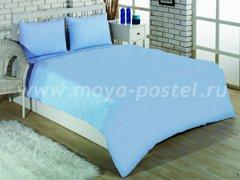 """Комплект постельного белья """"Небесно-голубой"""" в интернет-магазине Моя постель"""