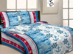 """Постельное белье с морем """"Штурвал и якорь"""" в интернет-магазине Моя постель"""