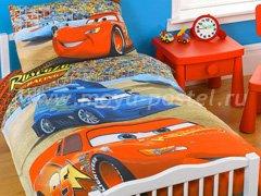 """Комплект постельного белья """"Тачки"""" в интернет-магазине Моя постель"""