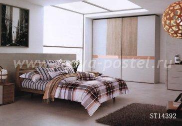 Twill евро 4 наволочки TPIG6-186 (папоротники) в интернет-магазине Моя постель