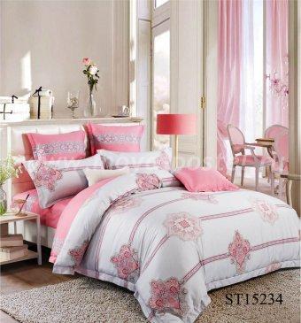 Комплект постельного белья Сатин вышивка CNR060 на резинке 160*200, евро размер в интернет-магазине Моя постель