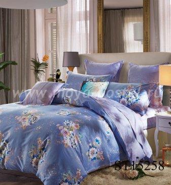 Комплект постельного белья Сатин вышивка CNR060 на резинке 180*200, семейный в интернет-магазине Моя постель