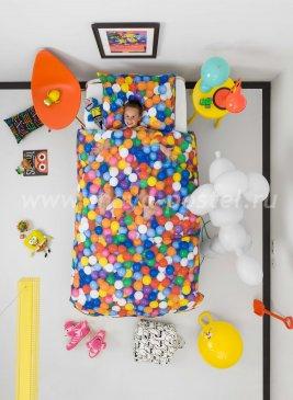 """Постельное белье """"Бассейн с шариками"""", полуторное в интернет-магазине Моя постель"""
