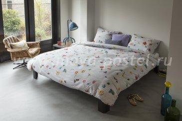 """Полуторный комплект постельного белья """"Вязаные цветы"""" в интернет-магазине Моя постель"""