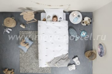 """Постельное белье для детей """"Полярные друзья"""", полуторное в интернет-магазине Моя постель"""