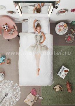 """Евро комплект постельного белья """"Балерина"""" в интернет-магазине Моя постель"""