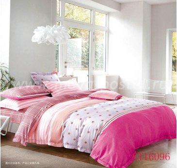 Комплект постельного белья Делюкс Сатин LR160 на резинке 160*200, двуспальный в интернет-магазине Моя постель