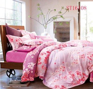 Комплект постельного белья Делюкс Сатин LR160 на резинке 160*200 двуспальный в интернет-магазине Моя постель