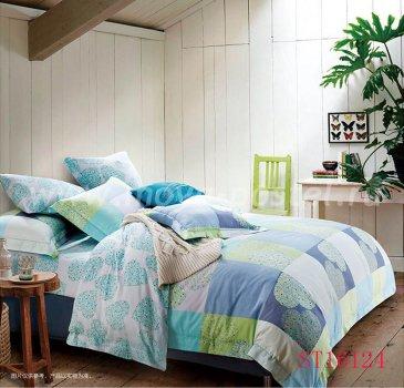 Комплект постельного белья Делюкс Сатин LR160 на резинке 180*200, евро размер в интернет-магазине Моя постель