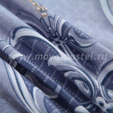 Комплект постельного белья Делюкс Сатин LR179 на резинке(140*200) в интернет-магазине Моя постель