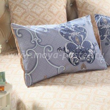 Комплект постельного белья Делюкс Сатин LR179 на резинке (180*200) евро в интернет-магазине Моя постель