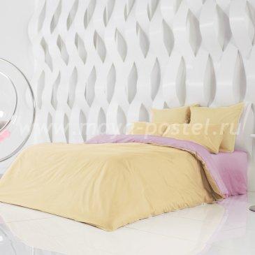Постельное белье Perfection: Солнечный Абрикос + Розовая Лаванда (евро) в интернет-магазине Моя постель