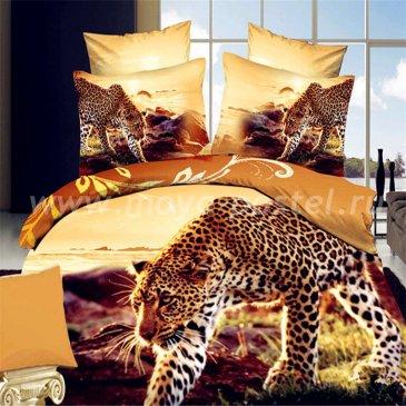 """Постельное белье """"Кения"""" 3D D071 (семейное, 50*70) в интернет-магазине Моя постель"""