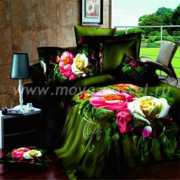 Постельное белье 3D D082 (двуспальное, 70*70) в интернет-магазине Моя постель