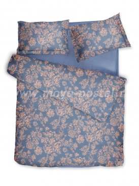 Комплект постельного белья DecoFlux Сатин Евро Peony Copper в интернет-магазине Моя постель