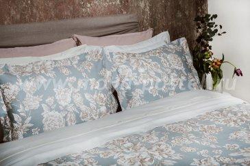 Комплект постельного белья DecoFlux Сатин семейный Peony Crystal в интернет-магазине Моя постель