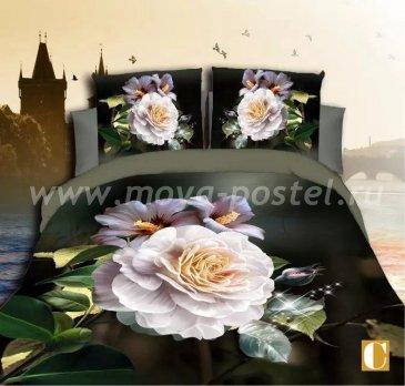 Постельное белье 3D M140 (евро, 50*70) в интернет-магазине Моя постель
