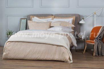Комплект постельного белья DecoFlux Сатин Евро Twist Gold в интернет-магазине Моя постель
