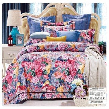 Двуспальное постельное белье жаккардовый люкс гобелен E004 в интернет-магазине Моя постель