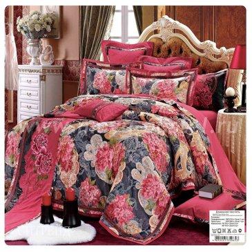 Семейное постельное белье жаккардовый люкс гобелен E005 в интернет-магазине Моя постель