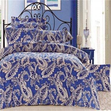 Двуспальный комплект постельного белья делюкс сатин L79 (70*70) в интернет-магазине Моя постель