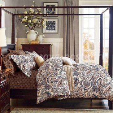 Семейный комплект постельного белья делюкс сатин L121 в интернет-магазине Моя постель