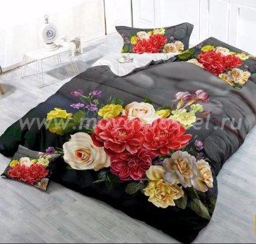 Постельное белье 3D M134 (евро, 50*70) в интернет-магазине Моя постель