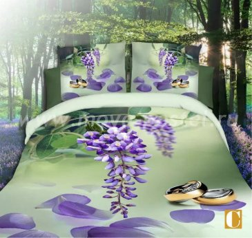 Постельное белье 3D M139 (евро) в интернет-магазине Моя постель