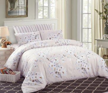 Комплект постельного белья из сатина C253, евро макси в интернет-магазине Моя постель