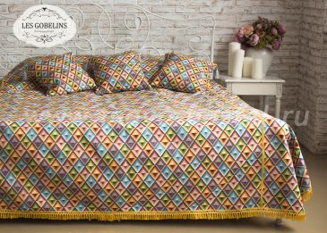 Покрывало на кровать Kaleidoscope (240х260 см) - интернет-магазин Моя постель