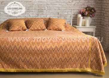Покрывало на кровать Zigzag (250х230 см) - интернет-магазин Моя постель