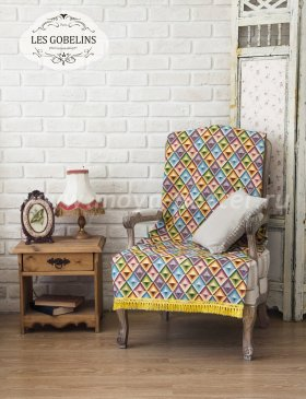 Накидка на кресло Kaleidoscope (50х170 см) - интернет-магазин Моя постель