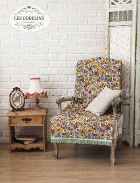 Накидка на кресло Fleurs De Jardin (100х180 см) - интернет-магазин Моя постель
