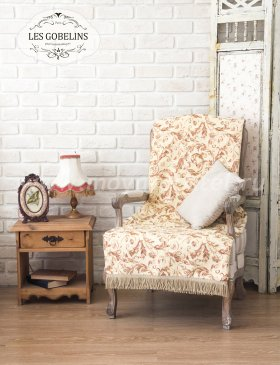 Накидка на кресло Feuilles Beiges (60х150 см) - интернет-магазин Моя постель