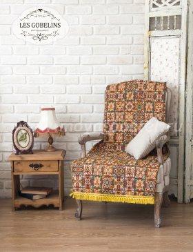 Накидка на кресло Mosaique De Fleurs (50х190 см) - интернет-магазин Моя постель